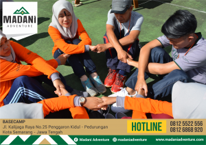 Outbound Semarang Madani